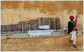 Folk Instruments Ravanhatta