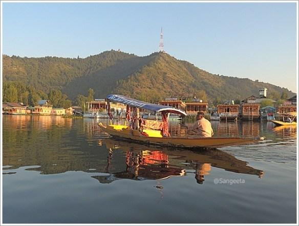 Srinagar Sightseeing -Dal Shikara Ride