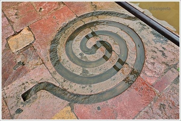 Mandu Nilkanth Temple Labyrinth
