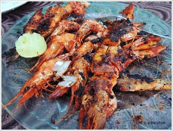 Foodie Trail in Kochi-Kerala-Kochi-Beach-Prawn