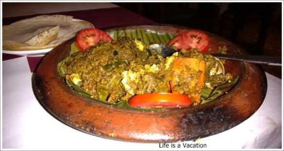 Foodie Trail in Kochi -Crab Curry Fusion Bay Kochi Kerala