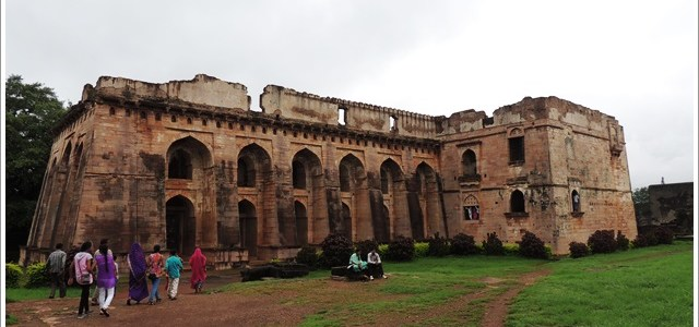 Hindola Mahal-Swing Palace of Mandu, India