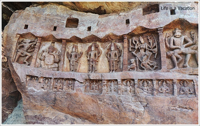 Badami Bhoothnath Wall Carving2