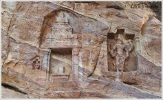 Badami Bhoothnath Wall Carving3