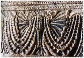 Badami Caves- Cave 1 Chalukya Beads