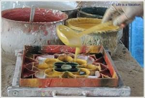Athangudi Tiles Making in Chettinad
