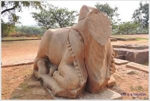 Pattadakal-Elephant