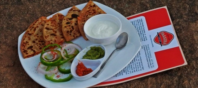 Paratha with a Twist in Indian Paratha Company