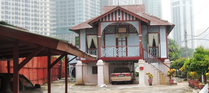 Walking around Kampung Baru; Kuala Lumpur