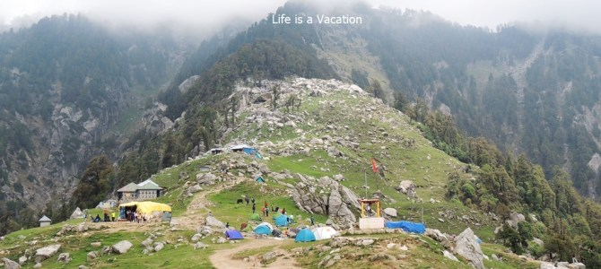 Day Hike to Triund Top near Mcleodganj