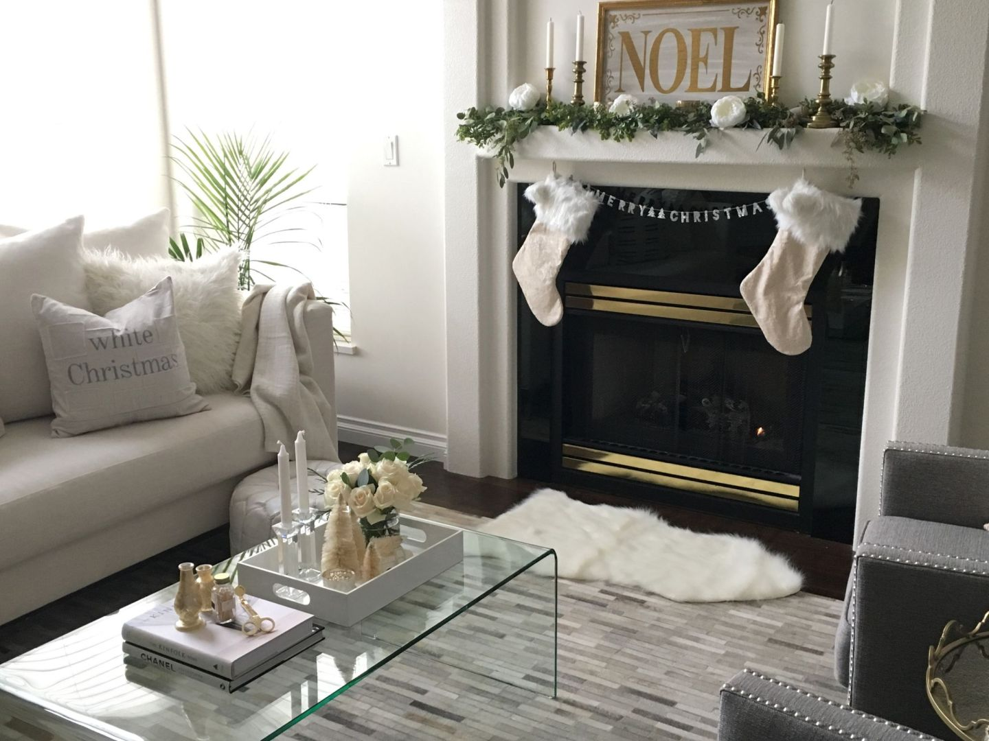 Holiday Home Tour – A Natural Christmas