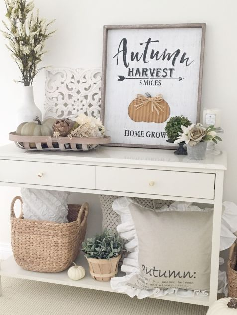 Fall Console Table 16