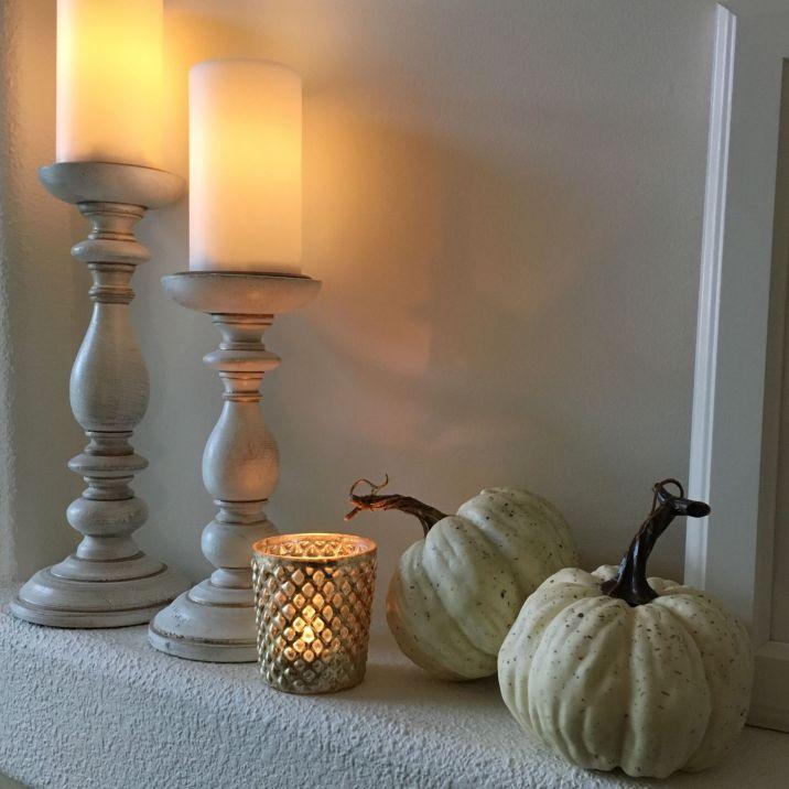 Modern Traditional Fall Living Room 19