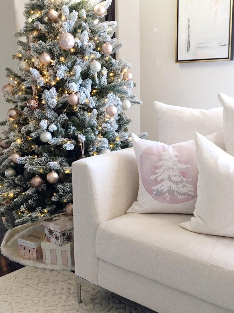 Rose Gold & Blush Christmas