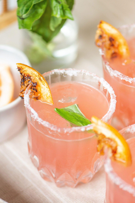 Refreshing Grapefruit Basil Paloma Recipe