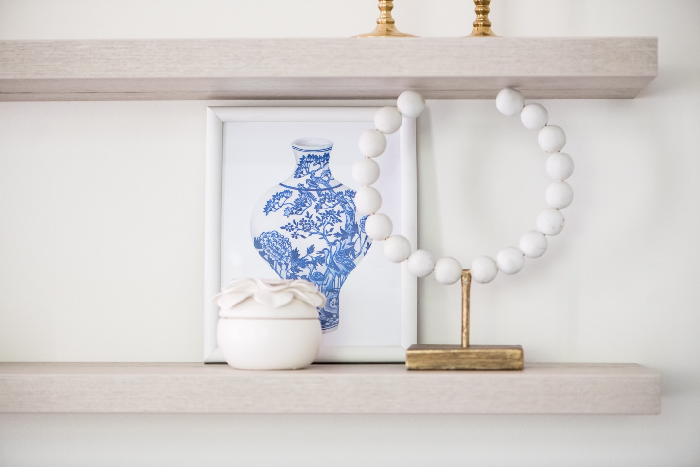 Classic Blue and White Summer Home Tour