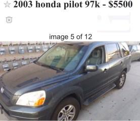 Honda Pilot 1