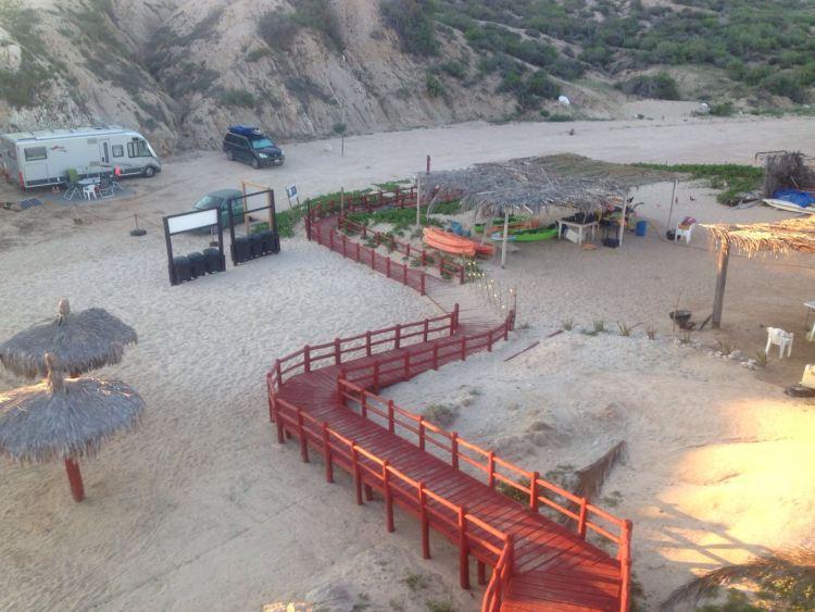 Cabo Pulmo Los Arbolitos Camping