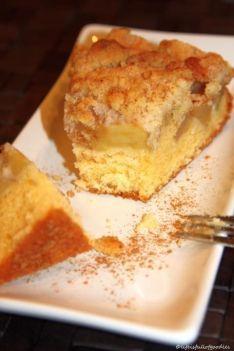 Altmodischer Apfelkuchen