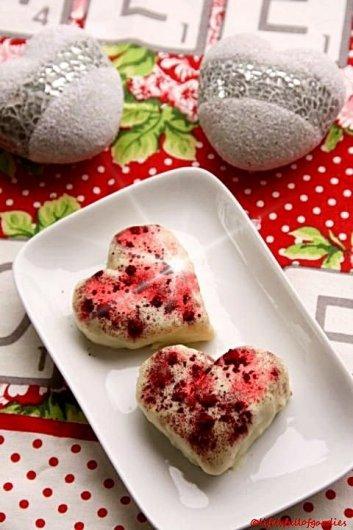Erdbeer-Herztörtchen zum Muttertag