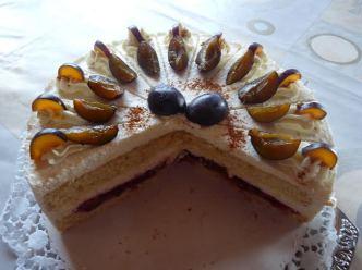 Zwetschgen-Torte mit Zitronen-Apfel-Creme von Monika S.
