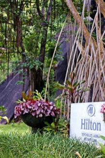 Wir residierten im Hilton Labriz auf der Insel Silhouette.