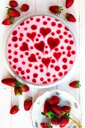 Herziger Erdbeer-Joghurt-Kuchen