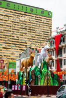 Chinese New Year stand vor der Tür