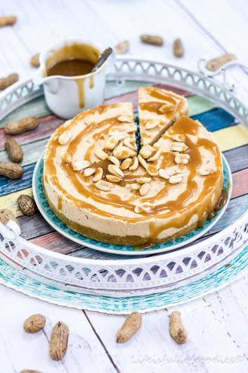 Erdnuss Cheesecake