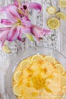 Zitronen-Milchreis-Tarte
