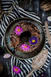 Saftiger Schokokuchen aus Süßkartoffelteig