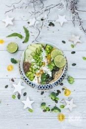 Grüne Veggie Bowl von KAMA
