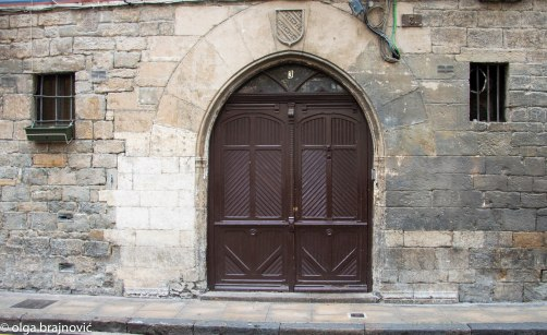 The main door of an old house in my neighbourhood