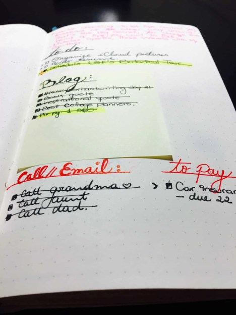 bullet journal bujo weekly layout setup spread page idea03