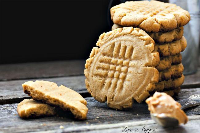 3 Ingredient Peanut Butter Cookies 2