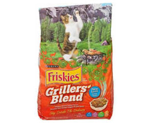 FREE Bag of Friskies Grillers Cat Food