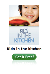 FREE Kids in the Kitchen Recipe Book