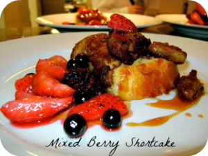 Mixed Berry Shortcake Recipe