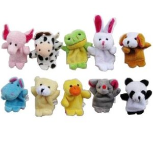 10pcs Animal Finger Puppets Set ONLY $2.64 SHIPPED