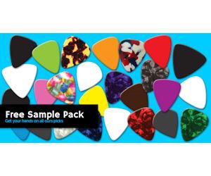 FREE Sample Pack of Guitar Picks