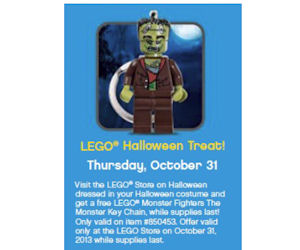 FREE LEGO Monster Fighters Monster Key Chain