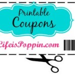 New High Value Printable Coupons