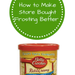 How to Make Store Bought Frosting Better and Go Further