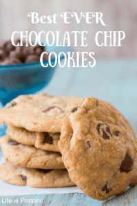 Best Chocolate Chip Cookie Recipe Ever! #Recipe
