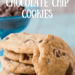 Best Chocolate Chip Cookie Recipe Ever! #Recipe