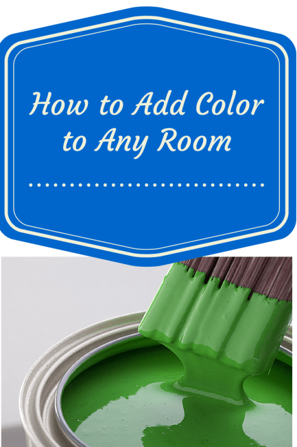 How to Add-a-Pop-of-Color-to-Any-Room