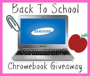 Back To School Chromebook Giveaway!
