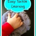 Tactile Learning: Get Messy with Dough!