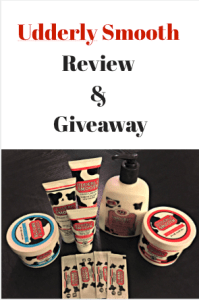 Udderly Smooth Review & Giveaway