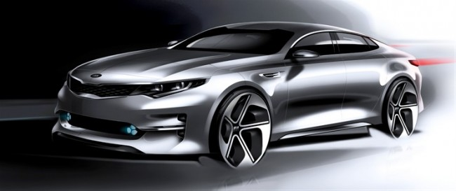 ALL-NEW OPTIMA MIDSIZE SEDAN DESIGN RENDERINGS